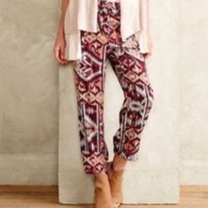 Anthropologie Lilka Printed Joggers